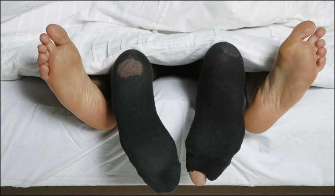 фото секса в носках