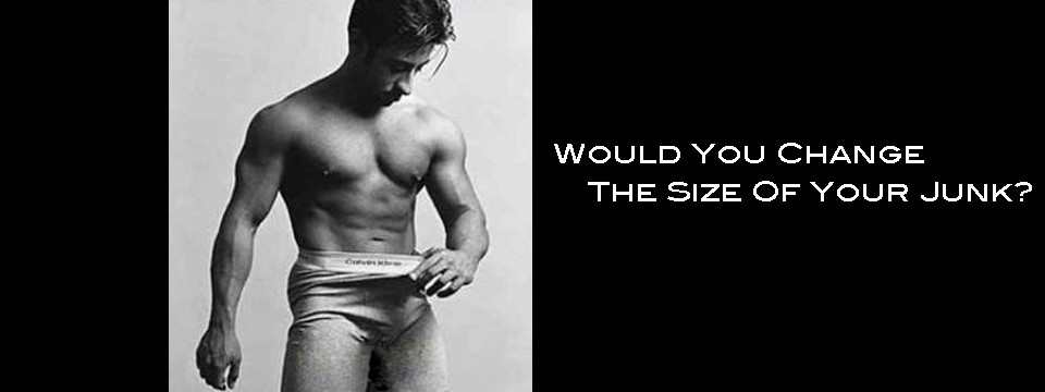 Would You Change The Size Of Your Junk?