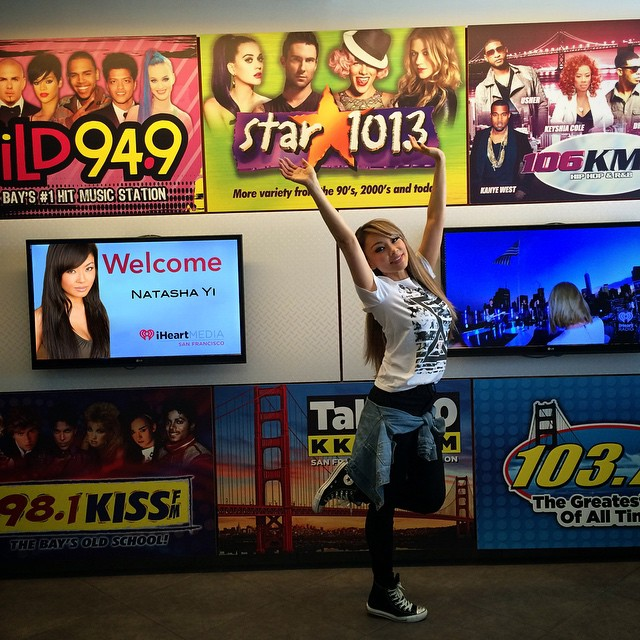 It was a fun day with my friends at #iheartradio in #SanFrancisco ??